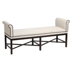 Stein World Living Room Kelly Transitional Roll Arm Bench 12480   Americana  Furniture   Tucker, GA