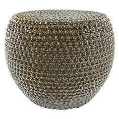 Aspire Hayden Garden Stool Gold -- To view further for this item, visit the image link.