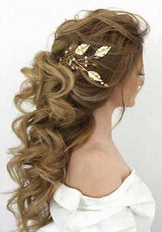 Wedding Hairstyles :   Illustration   Description   Elstile wedding hairstyles for long hair 36 – Deer Pearl Flowers / www.deerpearlflow…    -Read More –   - #WeddingHairstyle https://adlmag.net/2017/12/06/wedding-hairstyles-elstile-wedding-hairstyles-for-long-hair-36-deer-pearl-flowers-www-deerpearl/