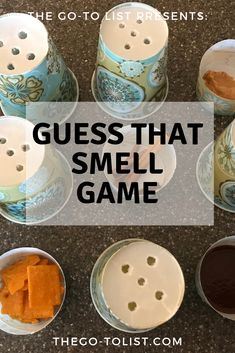 Guess That Smell Game