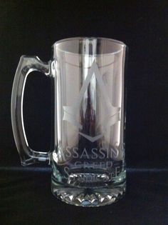 Assassin's Creed Syndicate Etched Beer Stein-PS4-PS3-XBOX ONE-PC-xbox360