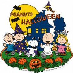 Charlie Brown and gang Halloween