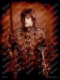 Luke Skywalker  STAR WARS  Steampunk Photoshop  por cameolandia http://etsy.me/1R8FIxp vía @etsy #starwars #gerradelasgalaxias #jedi #darkside #LukeSkywalker #photoshop #steampunk #steampunker #scifi #steamer