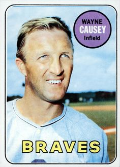 #33 Wayne Causey - Atlanta Braves