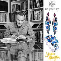 Designer Simon Harrison! #SimonHarrison #Swarovski #crystals #exclusive #jewelry #TZjewelry #unique