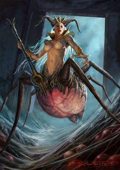 Spider Queen by *warlordwardog on deviantART