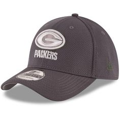 separation shoes 39c1c 66d24 Green Bay Packers New Era Youth Tone Tech Redux 39THIRTY Flex Hat -  Graphite -  24.99