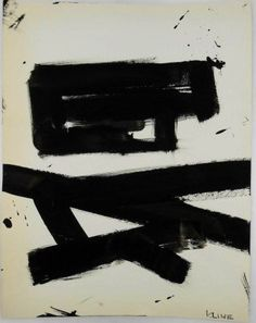 Franz Kline (1910-1962) Brush & Ink Drawing : Lot 42