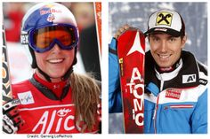 Lindsey Vonn and Marcel Hirscher Voted January Athletes of the Month 2015
