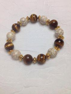 Calm and Grounding Energy Bracelet. perfect stones for Gemini, Capricorn and Virgo by EtherealLightDesigns on Etsy Tassel Bracelet, Chakra Bracelet, Beaded Bracelets, Stretch Bracelets, Jewelry Making Beads, Beaded Jewelry, Diy Jewelry Inspiration, Cute Bracelets, Healing Bracelets