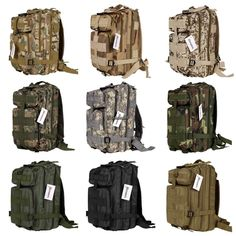 New Outdoor Military Tactical Backpack Rucksacks Camping Hiking Trekking Bag  30L handbags designer 73417b3ca05df