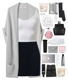 """get to know your thoughts // 60k followers! ♡"" by moonlightxbby ❤ liked on Polyvore featuring Organic by John Patrick, Versace, J.Crew, NARS Cosmetics, Nails Inc., Zara Home, adidas, John Lewis, Ann Demeulemeester and Brinkhaus"