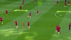 """Rueda de pase """"Y"""" del Atlético de Madrid del Cholo Simeone."""