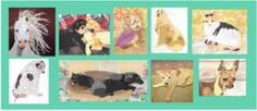 Do you want a custom pet portrait collage? www.maggybrown.com
