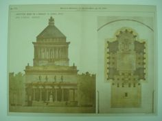 Competitive-Design-for-a-Monument-to-General-Grant-1890-Original-Plan