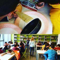 Cuinant la CDU amb els nens/es de 4rt A i B de l'Escola Montserrat acabem la setmana.#childrenlibrary #visitesescolars #esparreguera #quèfemalesbiblios