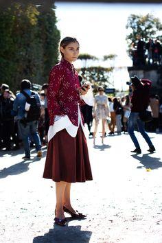Jenny Walton of the Sartorialist Is a Street Style Star Photos   W Magazine