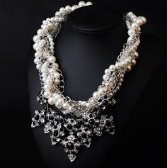 WHOLESALE FASHION JEWELRY ACCESSORIES NEW DESIGN LADY BIB STATEMENT FLUORESCENT LUXURY CRYSTAL NECKLACE COLLAR HOT