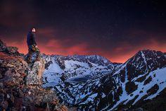 Night photography Tatras Mountains