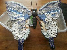 Vlinder met mozaïek