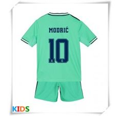 Real Madrid Luka Modric # 10 replika Babykläder Tredje tredje barn kort ร . Equipacion Real Madrid, James Rodriguez, Gareth Bale, Korn, Barista, Football Shirts, Short Shorts, Baristas