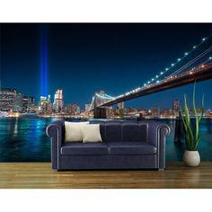 penthouse-vlies-new-york-foto-poszter-tapeta - bator_cs - indafoto. New York Wallpaper, Photo Wallpaper, Wall Wallpaper, Wall Art Decor, Wall Murals, Wall Appliques, Outdoor Sofa, Outdoor Decor, Concrete Jungle