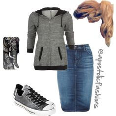 Apostolic Fashions #794 by apostolicfashions on Polyvore featuring Diesel and Converse