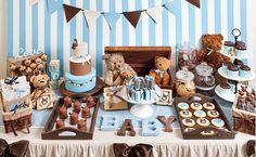 Teddy Bear baby shower by Petit Gateau. Photo: Boaz Lavi for Laisha