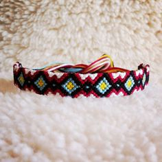 Friendship Bracelet MADE TO ORDER Braided by rebeccaderas on Etsy