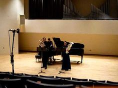 """Dr. Brian Meixner and SSG Lauren Veronie perform the """"Flower Duet"""" Slippery Rock University's """"Tuba and Euphonium Day at The Rock"""""""