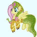 Fluttershy as Cassiopeia