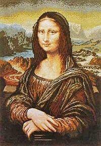 Mona Lisa - Official Patters on Wiehler-Gobelin website