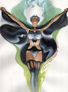 The Marvel Comics of the — thebaxterbuilding: Storm, by Steve Rude. Comic Book Characters, Comic Character, Comic Books Art, Marvel Characters, Univers Marvel, Marvel Comics, Marvel Heroes, Batgirl, X Men