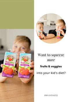 #ad Lately, I've been trying to get more veggies and fruit into their snacks, which has been no small feat. I stumbled upon @appleandeve Fruitables juice and saw that they offer 1 combined serving of fruits and veggies in every box and 1⁄3 less sugar than other leading juices, so it couldn't hurt to try it right?  Winner, winner! The boys ALL loved them! So pumped to have found another option to incorporate fruits and veggies into their diets! 🙌 #AppleAndEveFamily #moreveggiesplease Apple And Eve, Health And Wellness, Health Tips, Attachment Parenting, Winner Winner, Kids Diet, Kids Health, Kids Education, Fruits And Veggies