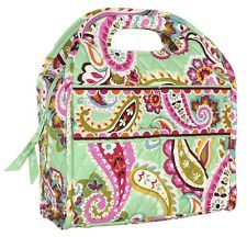 Vera Bradley Tutti Frutti Lunch Tote Carryall Bag...or really any vera lunch bag...