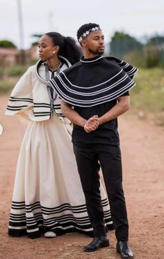 Friday has come wrapped up in traditional Xhosa wear.