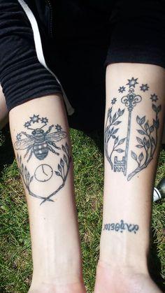Tattoos based on Lev Grossman's 'The Magicians' series - Imgur