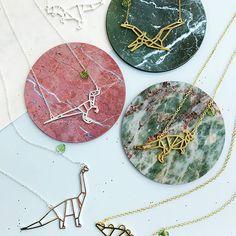 Dinosaur Necklaces