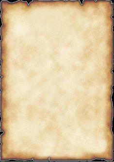 image papier à lettre parchemin