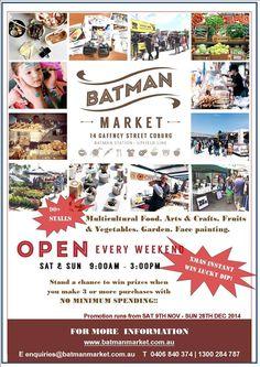 Batman Market -Sunday Market Melbourne | Weekend MarketBatman Market