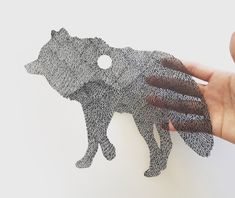 San Francisco-based paper artist Kanako Abe creates hand-cut, intricate nature illustrations, that at first glance look like pen drawings. Paper Illustration, Nature Illustration, Art Illustrations, Book Art, Surreal Artwork, Colossal Art, Art Japonais, Paper Artwork, Paper Artist