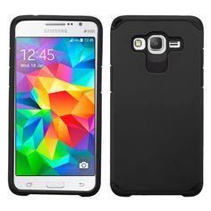 MYBAT Samsung Galaxy Grand Prime Neo Astronoot Case - Black/Black