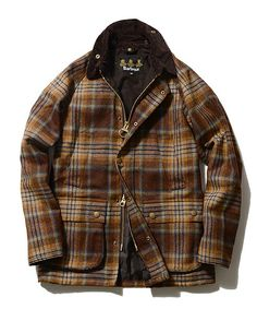 BEAMS Fの【予約】Barbour / 別注 Tokyo Fashion, Fashion Wear, Mens Fashion, Fashion Outfits, Barbour Jacket, Men Closet, Winter Outfits Men, Mens Trends, Work Jackets