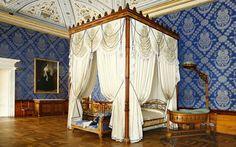 Royal Bedroom, Castle Racconigi, Itlay.