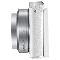 "Buy Samsung NX Mini Compact System Camera with 9mm Lens, HD 1080p, 20.5MP, Wi-Fi, NFC, 3"" Touch Screen and Adobe Photoshop Lightroom, White Online at johnlewis.com"