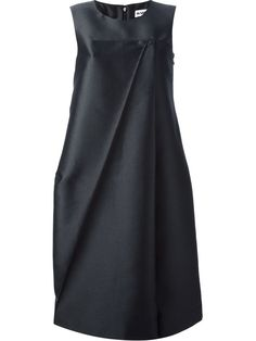 Jil Sander - Sleeveless Voluminous Dress