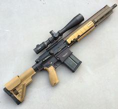 Our favorite 308 In the safe. Heckler and Koch MR762. We love H&K  #hecklerandkoch #mr762 #tacpack #guns www.tacpack.com