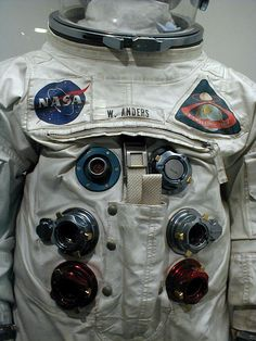 William Anders, Apollo 8 suit