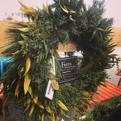 Humbug Wreaths from Port Orford, Oregon practice ethical harvesting including foraging for branches and using top cuts to make their gorgeous Port Orford, Holiday Market, Christmas Eve, Branches, Gift Guide, Oregon, Harvest, Home And Garden, Entertaining