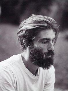 Men with Beards Long Hair